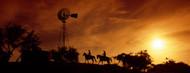Standard Photo Board: Cowboys at Sunset - AMER