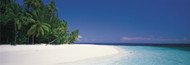 Extra Large Photo Board: White Sand Beach Maldives - AMER