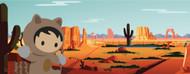 Standard Photo Board: Salesforce Backdrop Desert 1 - AMER
