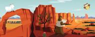 Standard Photo Board: Salesforce Backdrop Desert 2 - AMER