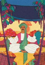 Afghanistan - The Bazaar Fruit-Seller