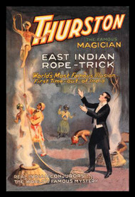 East Indian Rope Trick Thurston the Magician