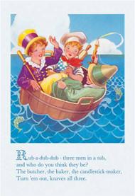 Rub-a-Dub-Dub, Three Men in a Tub