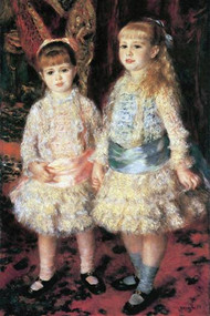The Girls Cahen d'Anvers by Renoir