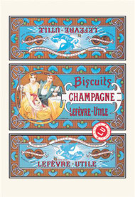 Biscuits Champagne by Alphonse Mucha