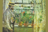 Eugene Manet on the Isle of Wight by Claude Monet