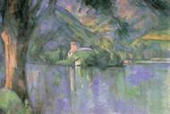 Le Lac Annecy by Cezanne