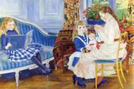 Children in the Afternoon in Wargemont by Renoir