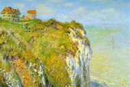 Cliffs by Claude Monet