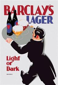 Barclay's Lager Light or Dark