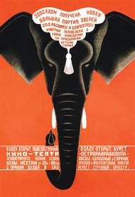 Large Party of Wild Animals Leningrad Zoo