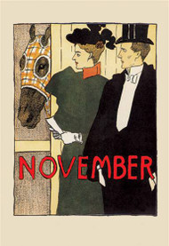 November in the Stable