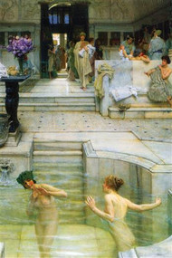 Favorite Tradition by Alma-Tadema