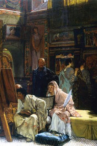 Gallery by Alma-Tadema