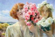 Summer Offering by Alma-Tadema