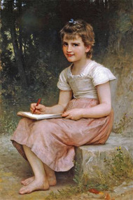 A Calling by Bouguereau