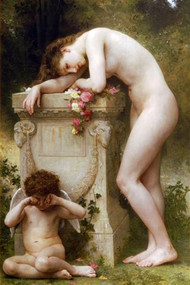 Elegy by Bouguereau