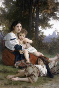 Rest by Bouguereau