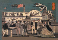 American Steamship in Harbor