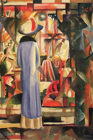 Large Bright Showcase Macke