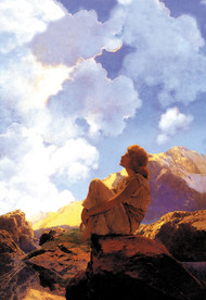 Morning (Spring) by Maxfield Parrish