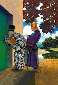 Chancellor and Pompdebile by Maxfield Parrish