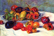 Still Life with Tropical Fruits by Auguste Renoir