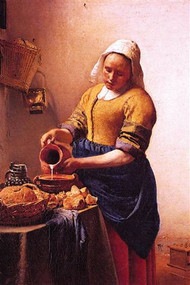 Milk Maid by Vermeer