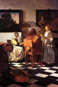 Musical Trio by Vermeer