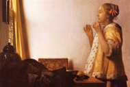 The Pearl Necklace by Vermeer