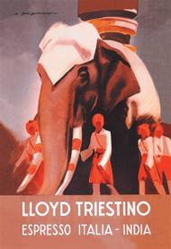 Lloyd Triestino Espresso Italia India