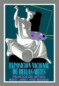 Exposicion Nacional de Bella Artes Palacios del Retiro