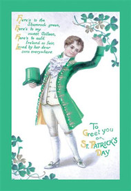 To Greet You On St. Patrick's Day