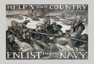 Help Your Country Stop This. Enlist in the Navy