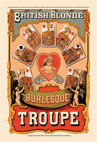 British Blonde Burlesque Troupe