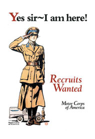 Recruits Wanted Motor Corps of America