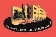 National Hotel Jerusalem Jordon