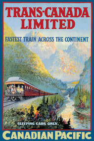Trans-Canada Limited - Fastest Train Across the Continent