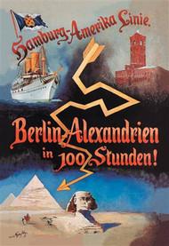 Berlin to Alexandria in 100 Hours on the Hamburg-Amerika Cruise Line