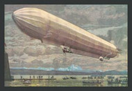 Zeppelin Above Lake Constance