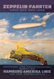 Zeppelin Fahrten Uber See und Land