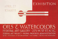 Oil Watercolor Exhibition Federal Art Gallery