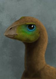 Hypsilophodon Dinosaur Portrait