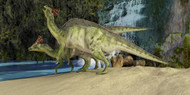 The Olorotitan, A Duckbilled Dinosaur From The Late Cretaceous