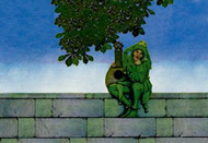 Green Jester by Maxfield Parrish