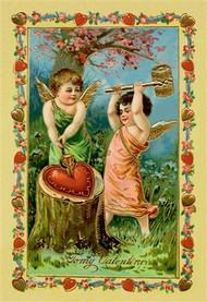 Angels Piercing A Heart