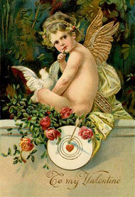 Angel Girl With Dove