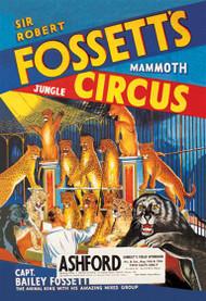 Sir Robert Fossett Mammoth Jungle Circus