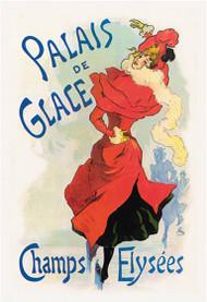 Palais de Glace Champs Elysees by Jules Cheret