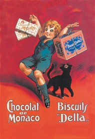 Chocolates from Monaco and Delta Biscuits
